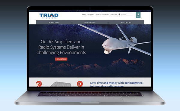 Triad RF Launches New Website