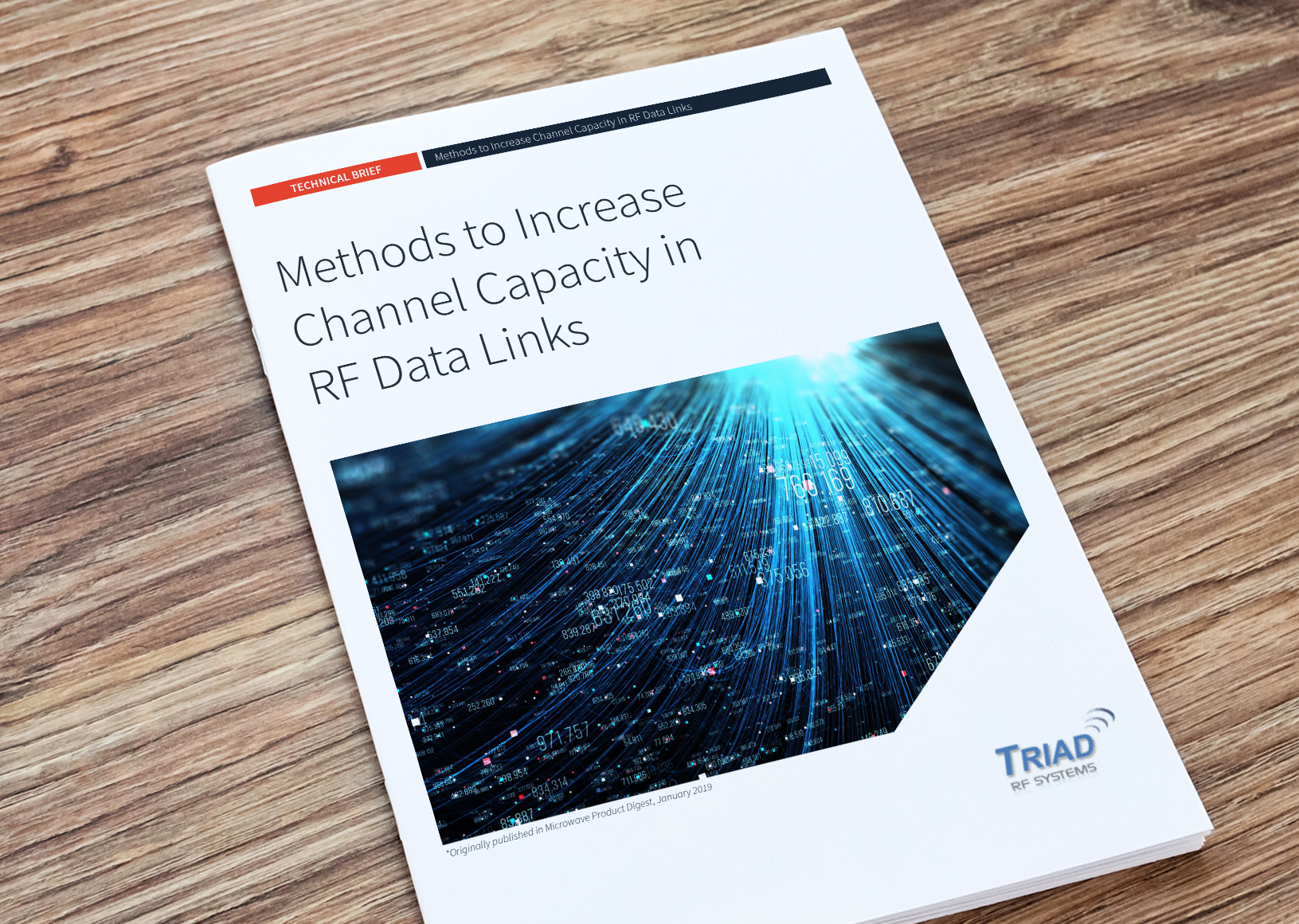 Methods to Increase Channel Capacity in RF Data Links