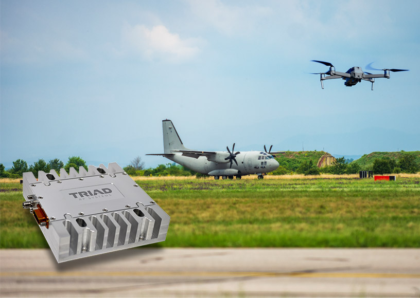 High Power Amplifier Provides a Solution for Defeating Complex UAS, UAV, and UGV RF Links