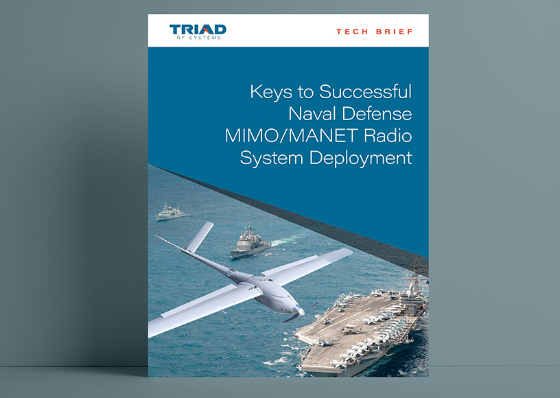 Keys to Successful Naval Defense Using MIMO/MANET Radio System Deployments