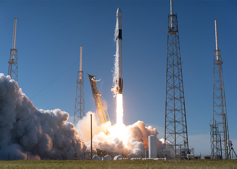 Triad's Latest Upconverters Launch into Action Aboard SpaceX's Falcon 9 Rocket