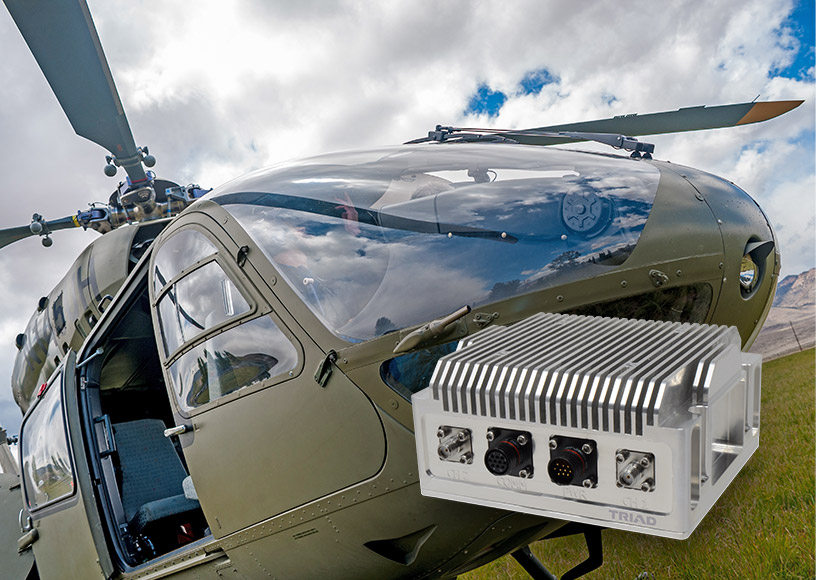 Sierra Nevada Awards Triad RF Contract for Amplified Radios Used in Army's Lakota Helicopters