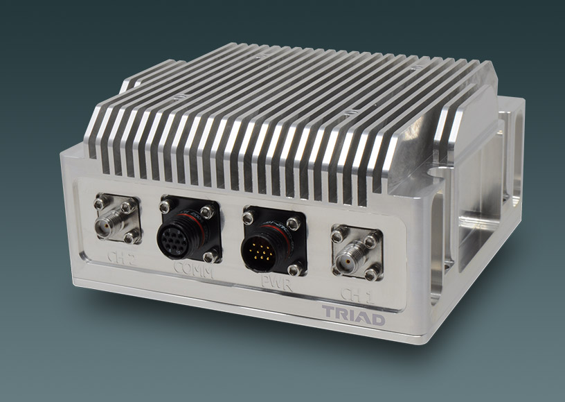 Amplified S-Band System Developed for Long-range Links from a COTs Microhard pMDDL2450