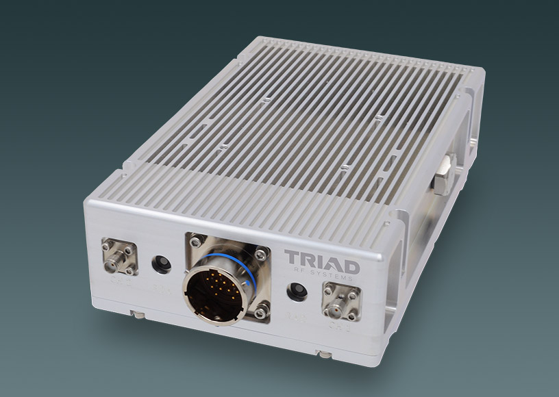 Amplified S-Band System Developed for Long-range Links from a COTs Silvus StreamCaster Radio